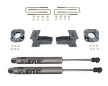 """2015-2021 Ford F-150 2WD 2.5"""" Front / 4"""" Rear Lift Kit W/ FOX Shocks - MaxTrac 903250F"""