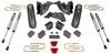 """2014-2018 Dodge RAM 2500 4wd 4"""" MaxPro Elite Lift Kit W/ FOX Shocks - MaxTrac K947241F"""