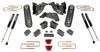 """2014-2018 Dodge RAM 2500 4wd 4"""" MaxPro Lift Kit W/ MaxTrac Shocks - MaxTrac K947241"""