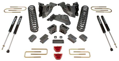 """2013-2018 Dodge RAM 3500 4wd 4"""" MaxPro Lift Kit W/ Radius Arm Brackets - MaxTrac K947341"""