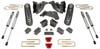 """2013-2018 Dodge RAM 3500 4wd 4"""" MaxPro Lift Kit W/ FOX Shocks - MaxTrac K947341F"""