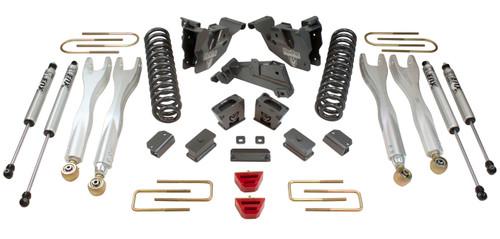 """2013-2018 Dodge RAM 3500 4wd 6"""" MaxPro Elite 4-Link Lift Kit W/ FOX Shocks  - MaxTrac K947363FL"""