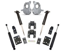 "2016-2018 Chevy & GMC 1500 2wd Adjustable 3/5"" or 4/6"" Lowering Kit - MaxTrac KA331336"