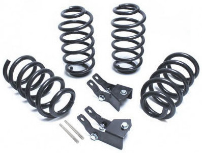 """2015-2019 Chevy Tahoe 2wd/4wd 2/4"""" Lowering Kit - MaxTrac K331524"""