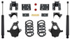"""2014-2016 GM 1500 2wd/4wd (Extended/Crew Cab) 4/6"""" Lowering Kit - MaxTrac KS331546-8"""