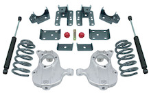 "2016.5-2018 GM 1500 2wd (Extended / Crew Cab) 3/5"" Lowering Kit - MaxTrac KA331535-8"