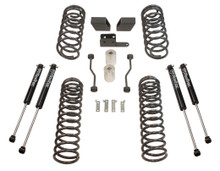 "2018-2020 Jeep Wrangler JL 4wd 3"" Coil Lift Kit  W/ MaxTrac Shocks - MaxTrac K949832S"