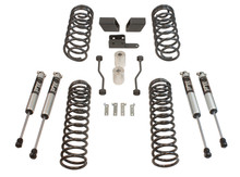 "2018-2019 Jeep Wrangler JL 4wd 3"" Coil Lift Kit  W/ FOX Shocks - MaxTrac K949832F"