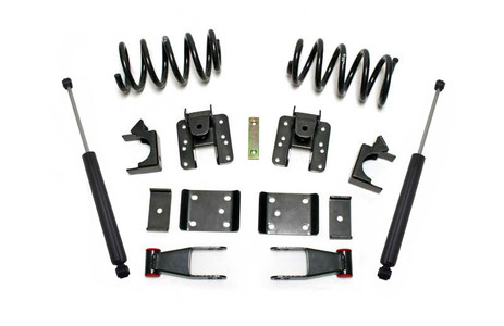 "2007-2013 GM 1500 2wd/4wd (Single Cab) 2/4"" Lowering Kit - MaxTrac K331324-6"
