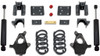 """2007-2013 GM 1500 2wd/4wd (Extended / Crew Cab) 4/6"""" Lowering Kit - MaxTrac K331346-8"""