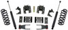 """2014-2018 Chevy Silverado 1500 2wd/4wd (Magneride) Extended Cab 2/4"""" Lowering Kit - MaxTrac K331524-8M"""