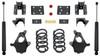 "2014-2016 GM 1500 2wd/4wd (Single Cab Magneride) 4/6"" Lowering Kit - MaxTrac KS331546-6M"
