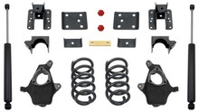 "2014-2016 GM 1500 2wd/4wd (Single Cab Magneride) 4/6"" Lowering Kit - MaxTrac KS331546-6M"