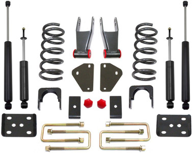 "2002-2008 Dodge RAM 1500 (V6) 2/4"" & 2/5"" Lowering Kit - MaxTrac K332124-6"