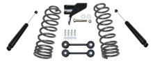 "2019-2021 Dodge RAM 1500 2wd/4wd Rear 4"" Lowering Kit - MaxTrac 202740"