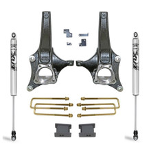 "2019-2021 Chevy & GMC 1500 2wd 3.5/1"" MaxTrac Lift Kit W/ FOX Shocks - K881932F"
