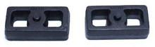 """2019-2022 GMC Sierra 1500 2wd/4wd 1"""" Cast Lift Blocks - MaxTrac 810010"""