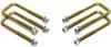 """2019-2022 Chevy Silverado 1500 2wd/4wd U-Bolts For 1""""-1.5"""" Lift Blocks - MaxTrac 910101"""