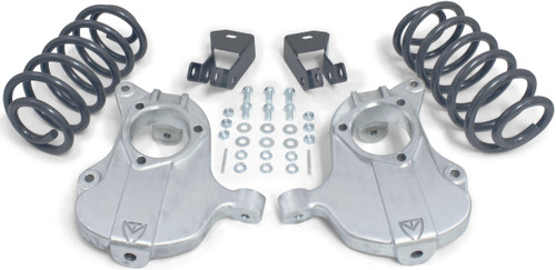 """2015-2020 GM SUV 2wd (Without Autoride) 2/4"""" Lowering Kit - MaxTrac KS331624"""