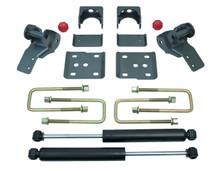 """2015-2020 Ford F-150 2wd 2/4"""" Lowering Kit W/ MaxTrac Struts - MaxTrac K333224S"""