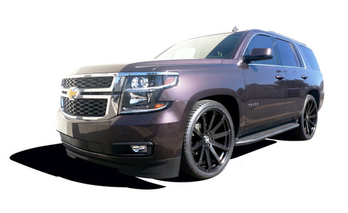 """2015-2020 Chevy Tahoe 2wd (With Autoride) 2/3"""" Lowering Kit - MaxTrac KS331623A Installed"""