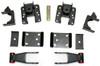 "2007-2018 GMC Sierra 1500 2wd/4wd 3-4"" Adj. Rear Flip Kit - MaxTrac 301340"