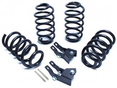 """2015-2019 GM SUV 2wd/4wd (W/ Auto Magneride) 2/3"""" Lowering Kit - MaxTrac K331623A"""
