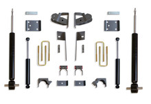 "2019-2020 GM 1500 2wd/4wd Pickup 2/4"" Lowering Kit - MaxTrac K331924S"