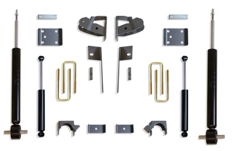"2019-2020 GM 1500 2wd/4wd Pickup 3/5"" Lowering Kit - MaxTrac K331935S"
