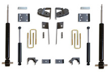 "2019-2021 GM 1500 2wd/4wd Pickup 3/5"" Lowering Kit - MaxTrac K331935S"