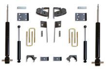 "2019-2022 GM 1500 2wd/4wd Pickup 3/5"" Lowering Kit - MaxTrac K331935S"