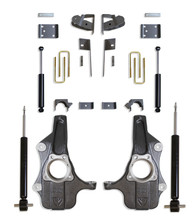 """2019-2022 GM 1500 2wd/4wd Pickup 3/5"""" Spindle Lowering Kit - MaxTrac KS331935S"""