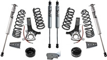 "2019-2021 Dodge Ram 1500 Classic 5 Lug 2wd Eco Diesel 6.5""/4.5"" Lift Kit W/ FOX Shocks - MaxTrac K882464F"