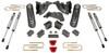 """2019-2022 Dodge RAM 2500 4wd 6"""" MaxPro Lift Kit W/ FOX Shocks - MaxTrac K947463F"""