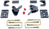"""2004-2008 Ford F-150 2wd/4wd 4"""" Rear Flip Kit With Hangers - MaxTrac 303140"""
