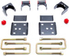 "2004-2014 Ford F-150 2wd/4wd 5"" Rear Flip Kit - MaxTrac 303150"
