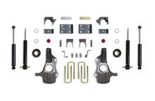 """2019-2021 GMC Sierra 1500 2wd 4/6"""" Lowering Kit - MaxTrac KS331946S"""
