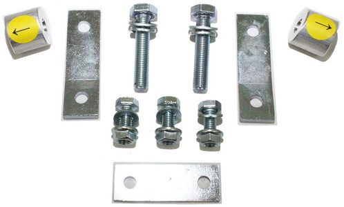 2007-2021 Toyota Tundra 2wd Carrier Bearing Spacers & Brake Line Brackets - MaxTrac 616700