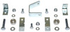 2005-2020 Toyota Tacoma (6 Lug) 2wd Carrier Bearing Spacers & Brake Lines Brackets - MaxTrac 616800