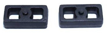 "2001-2010 Chevy Silverado 1500HD 2wd/4wd 1"" Cast Lift Blocks - MaxTrac 810010"