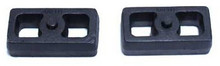 "2001-2010 Chevy Silverado 2500 HD 2wd/4wd 1"" Cast Lift Blocks - MaxTrac 810010"
