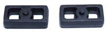 "2001-2010 Chevy Silverado 3500 HD 2wd/4wd 1"" Cast Lift Blocks - MaxTrac 810010"