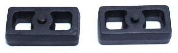"""2001-2010 GMC Sierra 2500 HD 2wd/4wd 1"""" Cast Lift Blocks - MaxTrac 810010"""