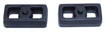 """2007-2018 GMC Sierra 1500 2wd/4wd 1"""" Cast Lift Blocks - MaxTrac 810010"""