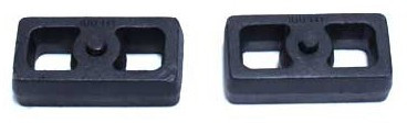 "1998-2009 Ford Ranger 2wd Coil Suspension (Non Stabilitrak) 1"" Cast Lift Blocks - MaxTrac 810010"