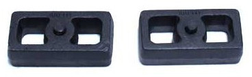 "2001-2010 Chevy Silverado 1500HD 2wd/4wd 1.5"" Cast Lift Blocks - MaxTrac 810015"