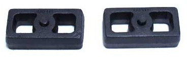 "2001-2010 Chevy Silverado 2500 HD 2wd/4wd 1.5"" Cast Lift Blocks - MaxTrac 810015"