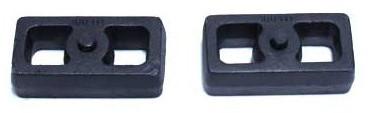 """2001-2010 GM 1500HD 2wd/4wd 2"""" Cast Lift Blocks - MaxTrac 810020"""