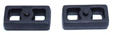 """2001-2010 GM 3500 HD 2wd/4wd 2"""" Cast Lift Blocks - MaxTrac 810020"""