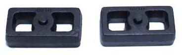 "1988-1998 Chevy Silverado 1500 2wd 2"" Cast Lift Blocks - MaxTrac 810020"